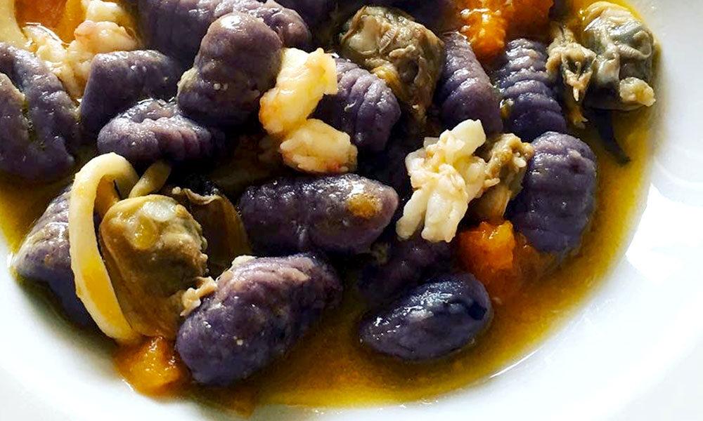 gnocchi patata viola