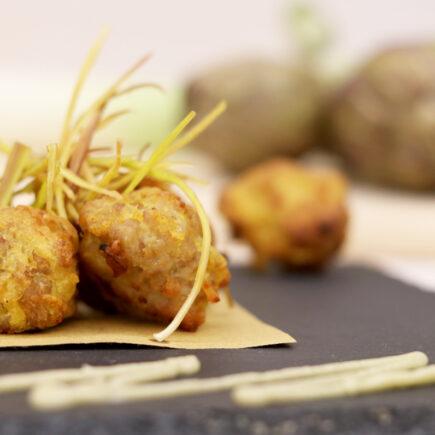 pollo in tempura